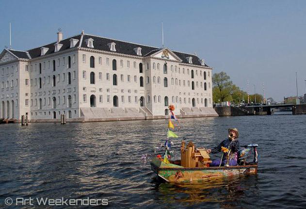 Scheepsvaartmuseum Amsterdam en Muziekboot