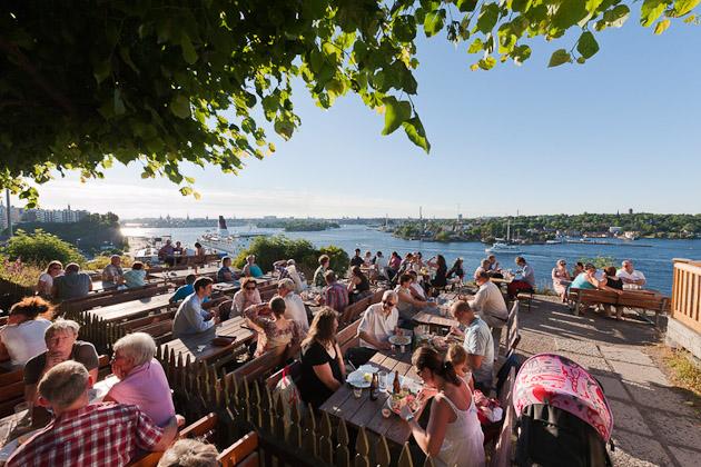 Fafangan view Sodermalm, photo by Jeppe Wikstrom/ mediabank.visitstockholm.com