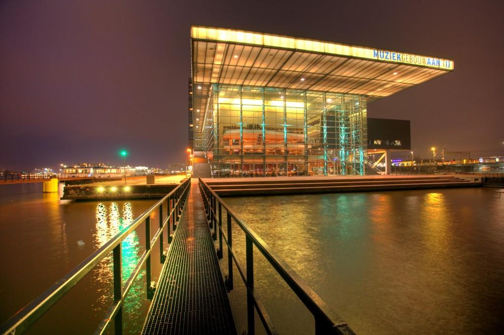 Muziekgebouw aan het IJ Bimhuis by Amsterdam Marketing