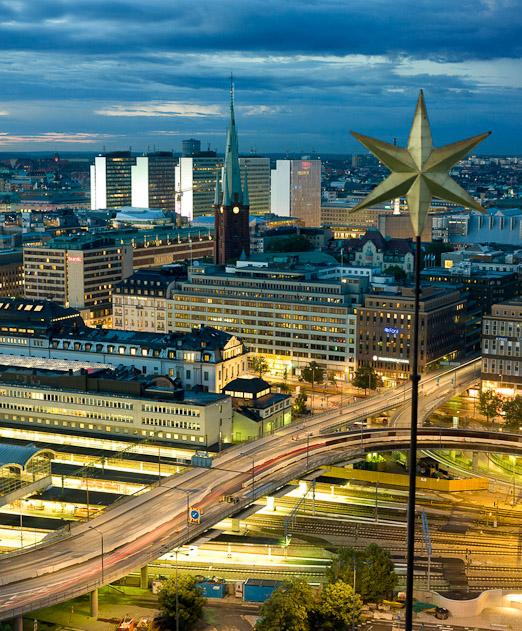 Norrmalm, Photo  by Yanan Li/ mediabank.visitstockholm.com.