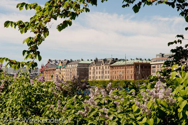 Östermalm seen from Djurgården, Stockholm.