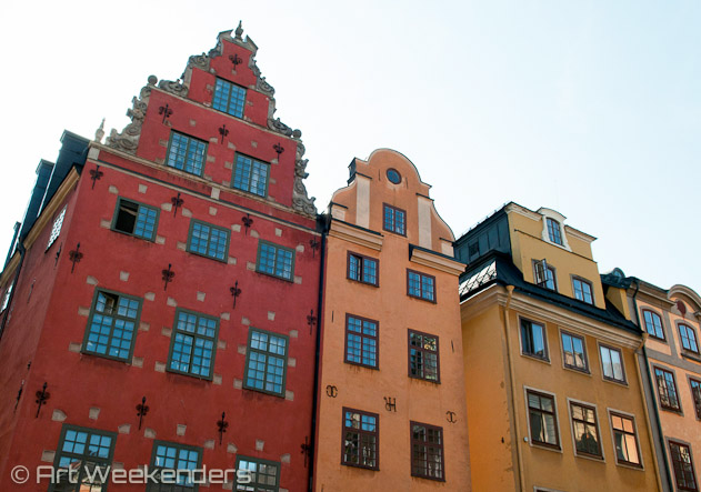 Architecture in Gamla Stan, Stockholm