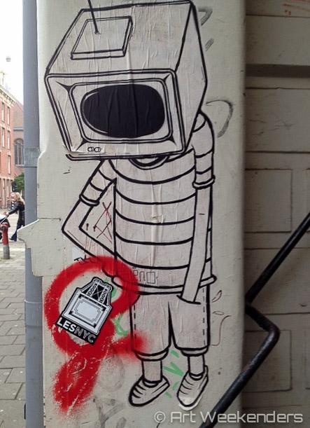 Street Art De Pijp Amsterdam