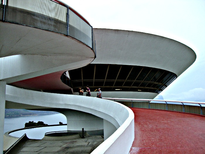 Oscar Niemeyer's MAC in Niteroi
