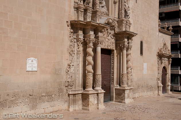 Spain-Alicante-Santa-Maria-church