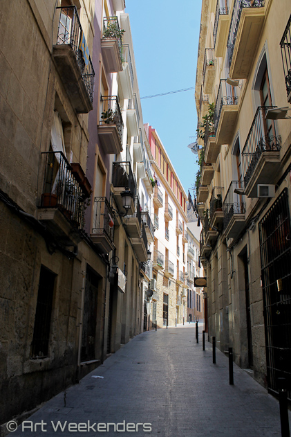 Spain-Alicante-alleys