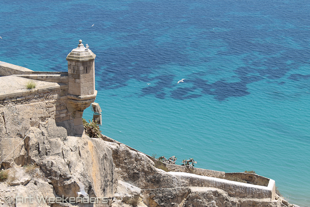 Spain-Alicante-Santa-Barbara-castle