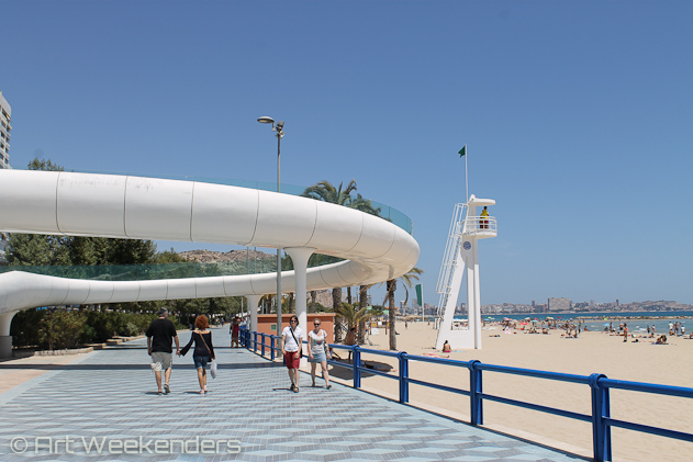 Spain-Alicante-Beach-Art