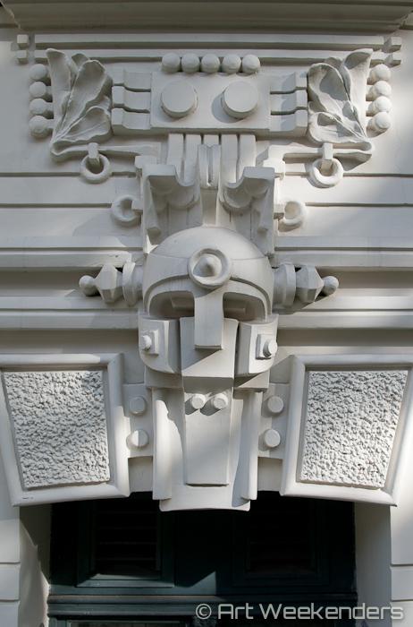 Latvia-Riga-Art-Nouveau-Letland - Art Nouveau in Riga