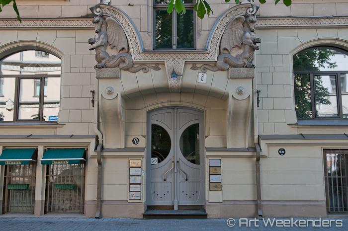 2014-Latvia-Art-Nouveau-WMAW (25) - Art Nouveau in Riga