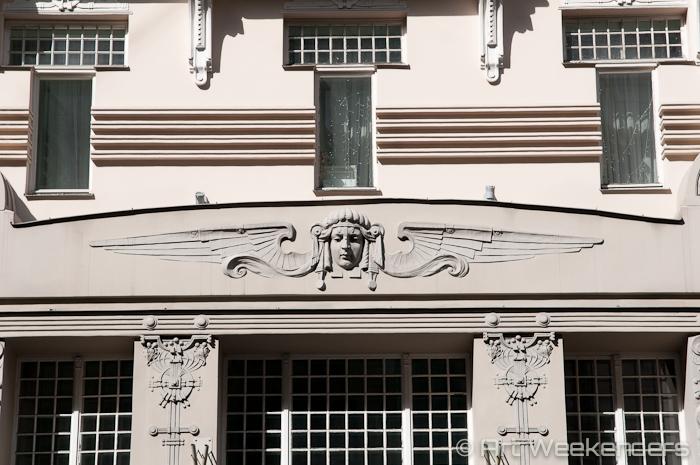 Latvia-Riga-Art-Nouveau - Art Nouveau in Riga