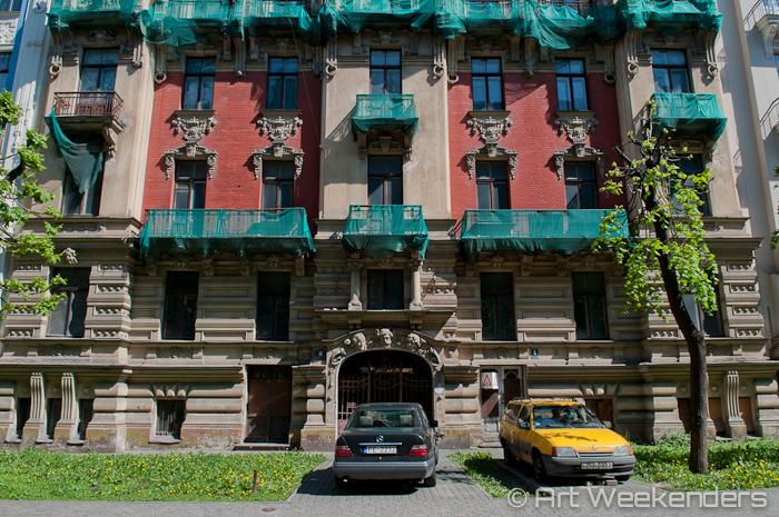 2014-Latvia-Art-Nouveau-WMAW (30) - Art Nouveau in Riga