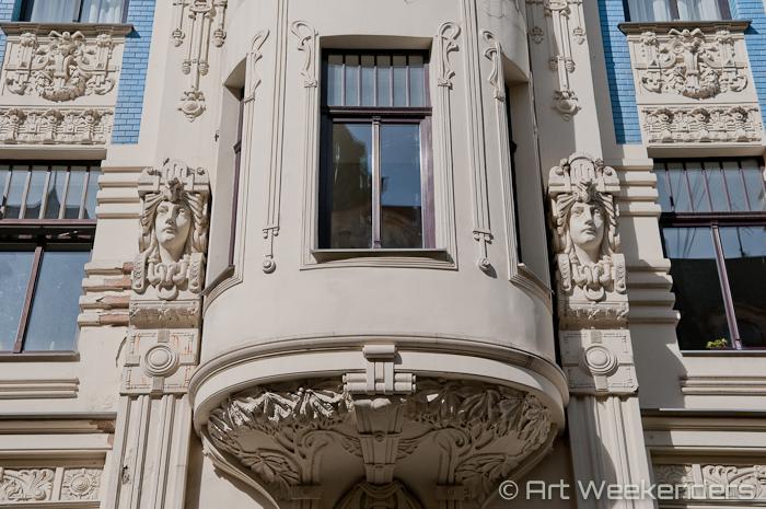 2014-Latvia-Art-Nouveau-WMAW (8) - Art Nouveau in Riga
