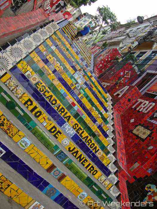 Brazil Selaron Stairs