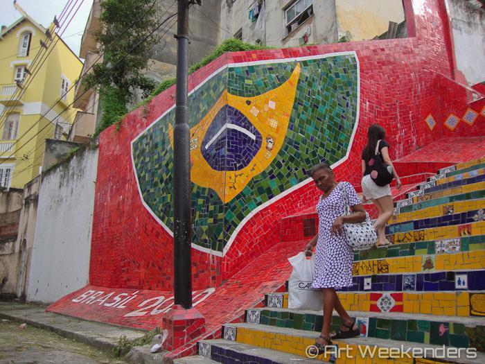 Selarón's stairs