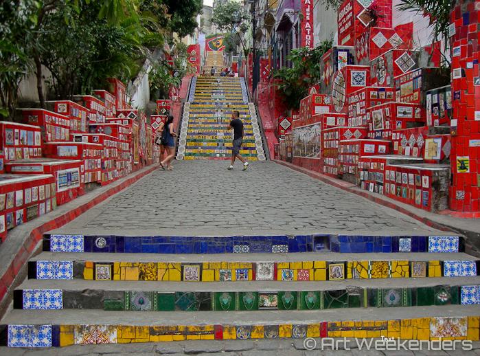 Rio de Janeiro stairs