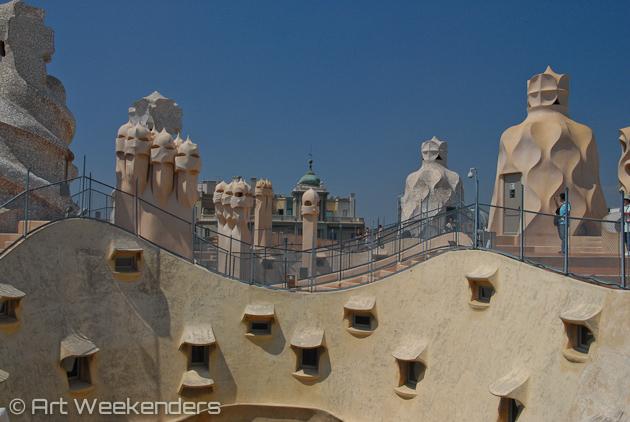 Barcelona-Gaudi-Casa-Mila.-La-Pedrera