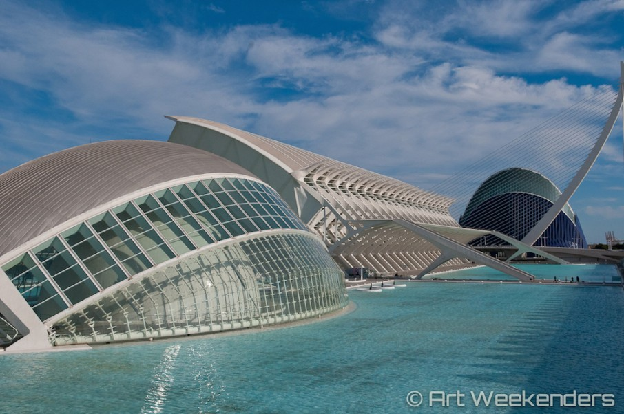 Ciudad De Las Artes Y Las Ciencias The City Of Arts And Sciences In Valencia