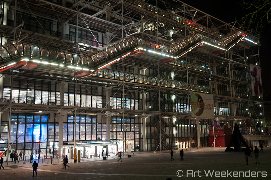Paris Museum: Centre Pompidou Paris architecture
