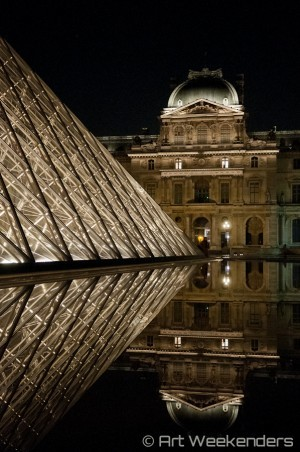 Paris Museum Visits: Louvre_by_night