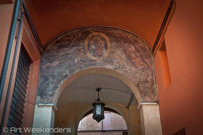 Italy-Bologna-fresco