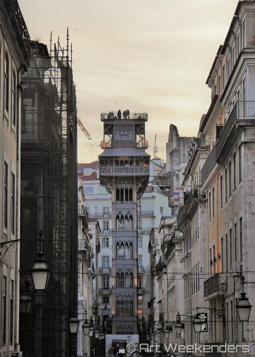 Elevator-Lisbon-Portugal