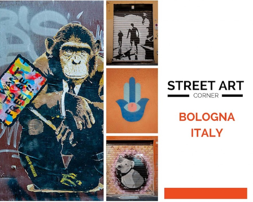 Street art Bologna Italy