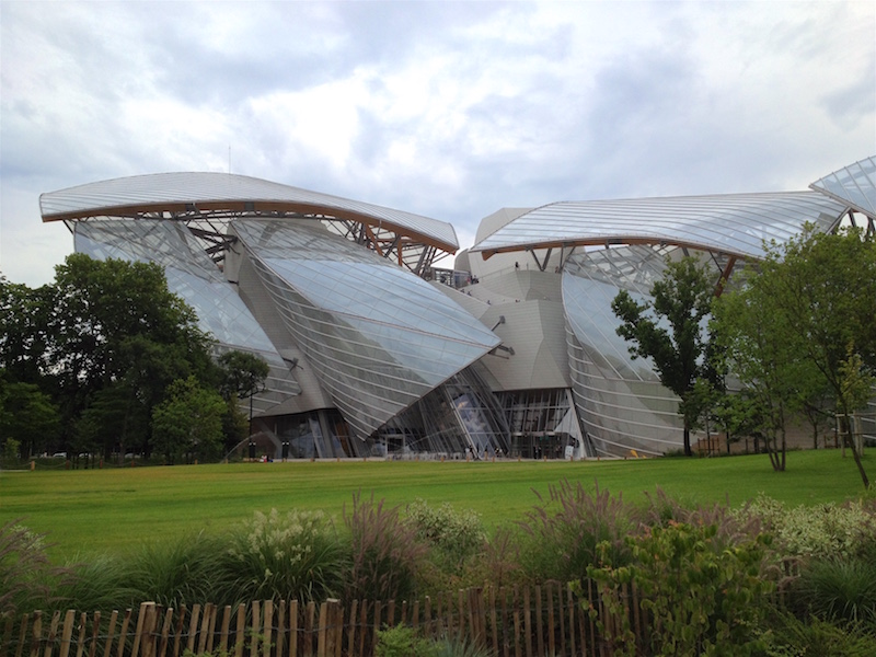 Fondation_Louis Vuitton Foundation Paris France Jardin