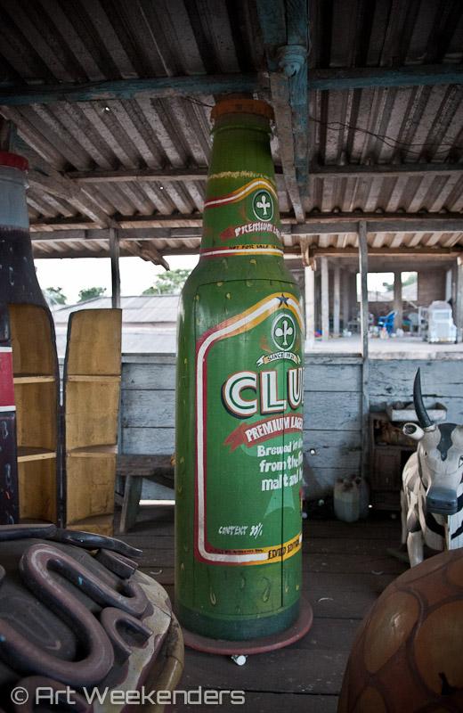 Ghana fantasy coffins art Club beer