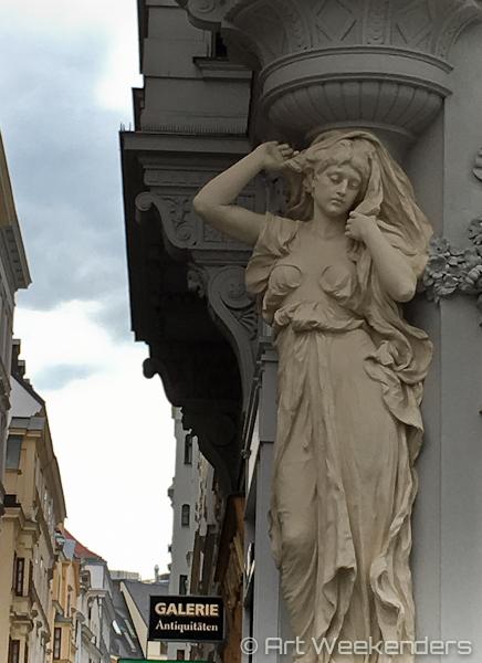 Art Nouveau in Vienna Austria