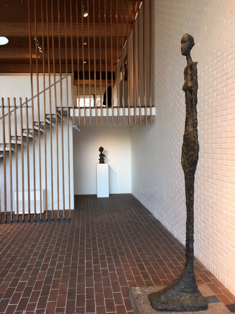 Giacometti Gallery Louisiana Museum of Modern Art Denmark
