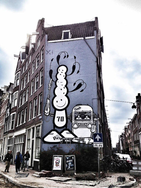 Street Art City Centre Amsterdam